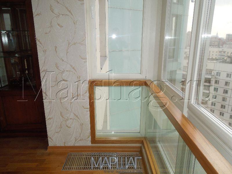 Ограждение для стеклянных французских стеклянных балконов..
